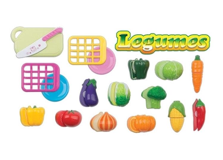 Legumes brincadeira de imaginação Góin Góin It Mãe