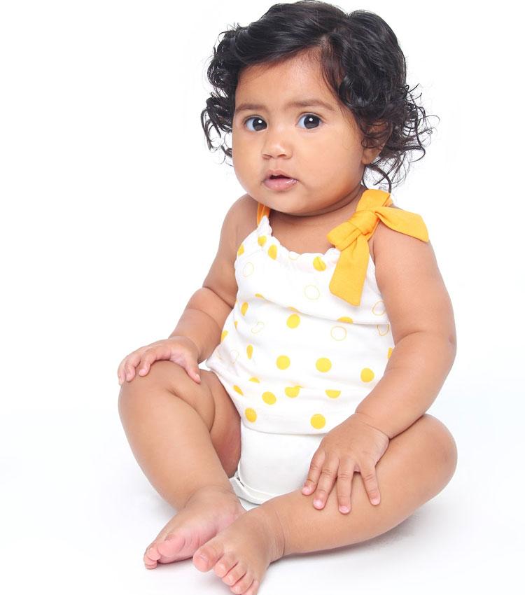 macacão amarelo baby pima
