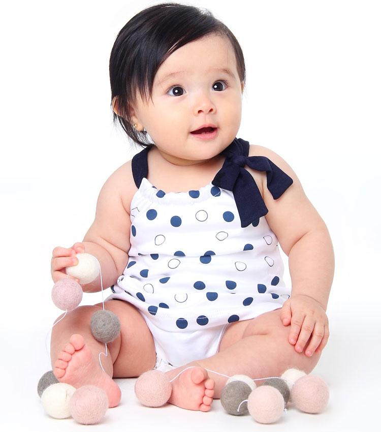 macacão azul dia das crianças baby pima it mãe