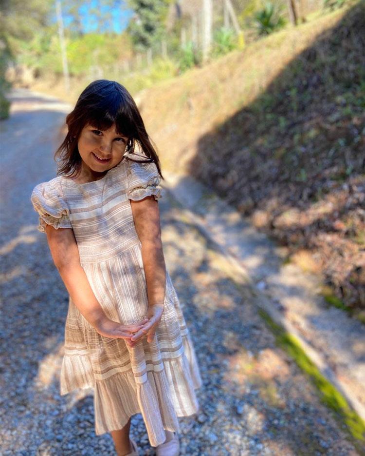 vestido infantil biobambini