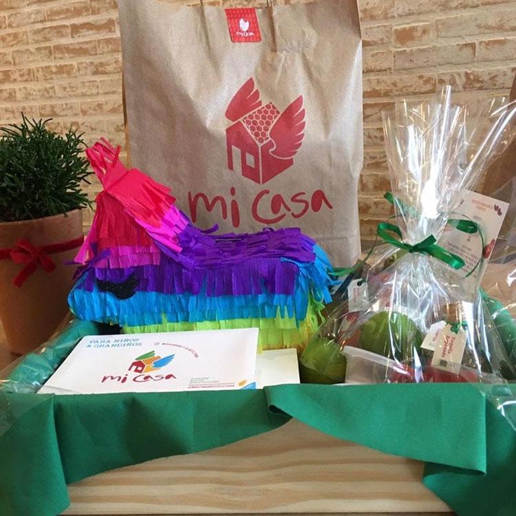 Box mexicano festa mexicana em casa Mi Casa It Mãe