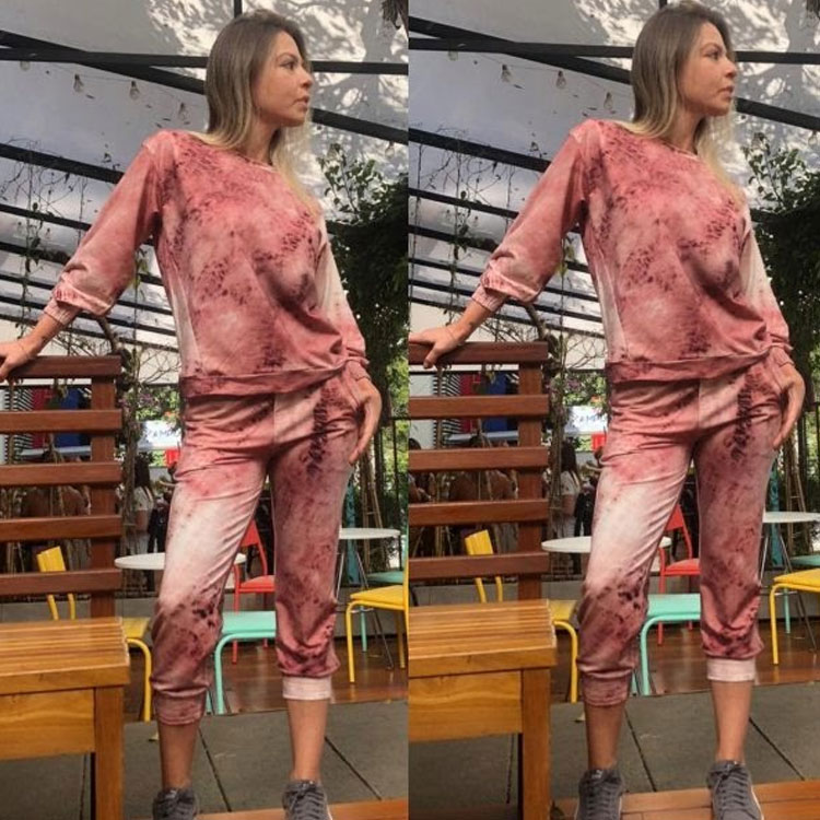 Conjunto Tie Dye looks comfy Moda em Casa It Mãe