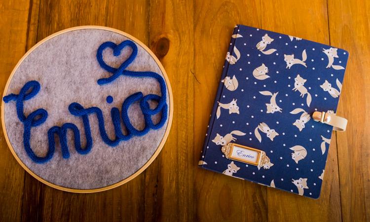 Bastidor e caderno personalizado Blessed Maternity - It Mãe