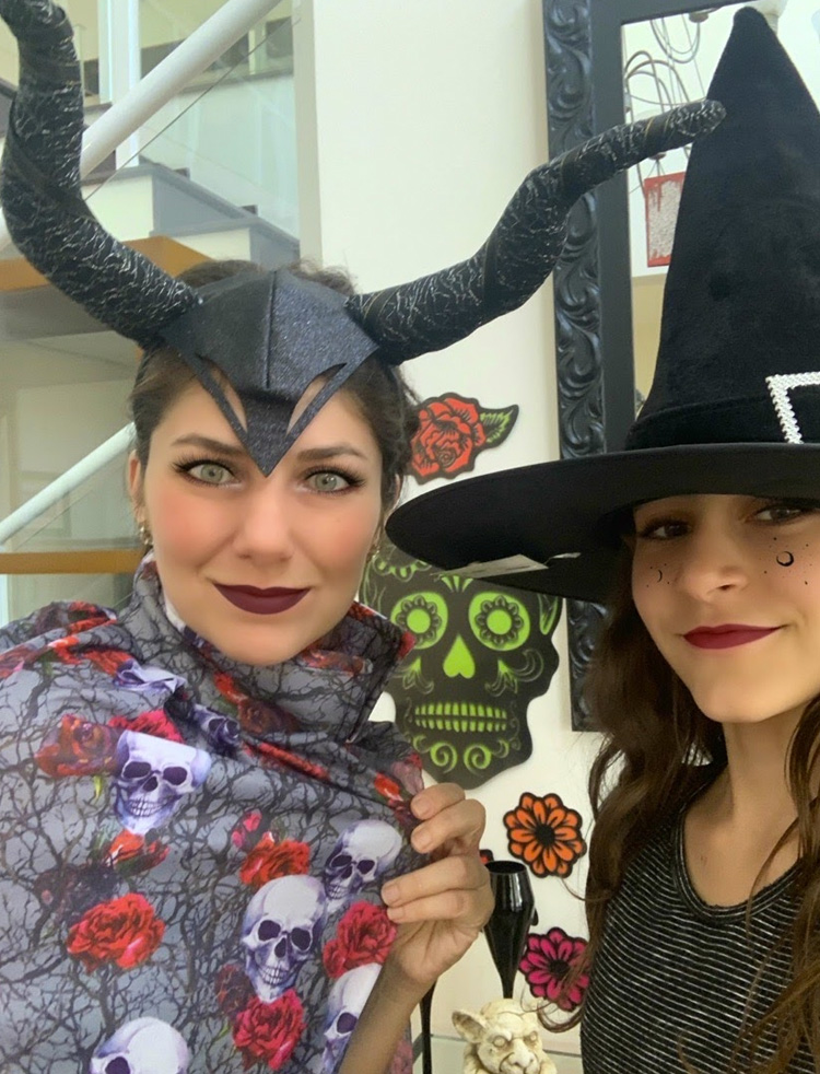 Aplicativo de maquiagem Halloween It Mãe