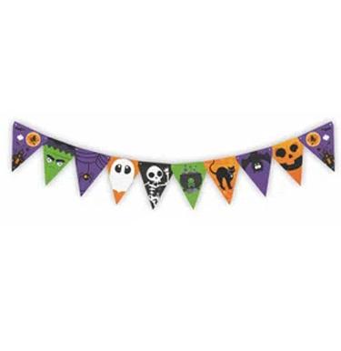 Faixa decorativa Abobora Halloween Festabox - It Mãe