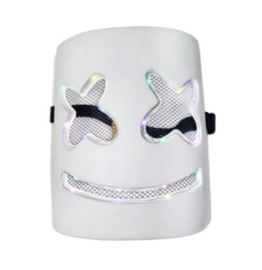 Máscara DJ Marshmello Led Rica Festa - It Mãe