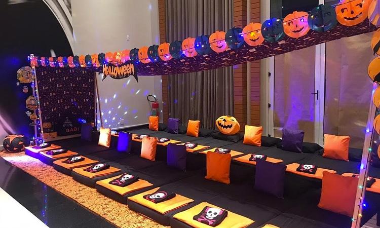 Festa do Pijama Halloween Pijamas Party - It Mãe