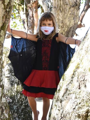 Fantasia Vampira Halloween Taioca - It Mãe