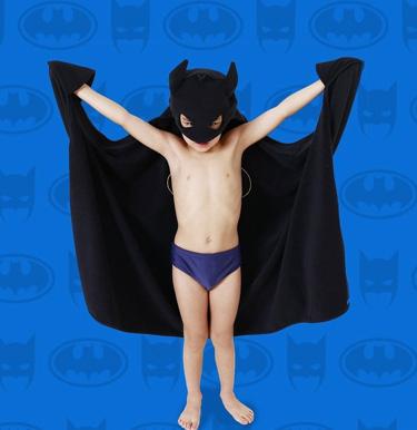 Toalha Batman Eumini - It Mãe