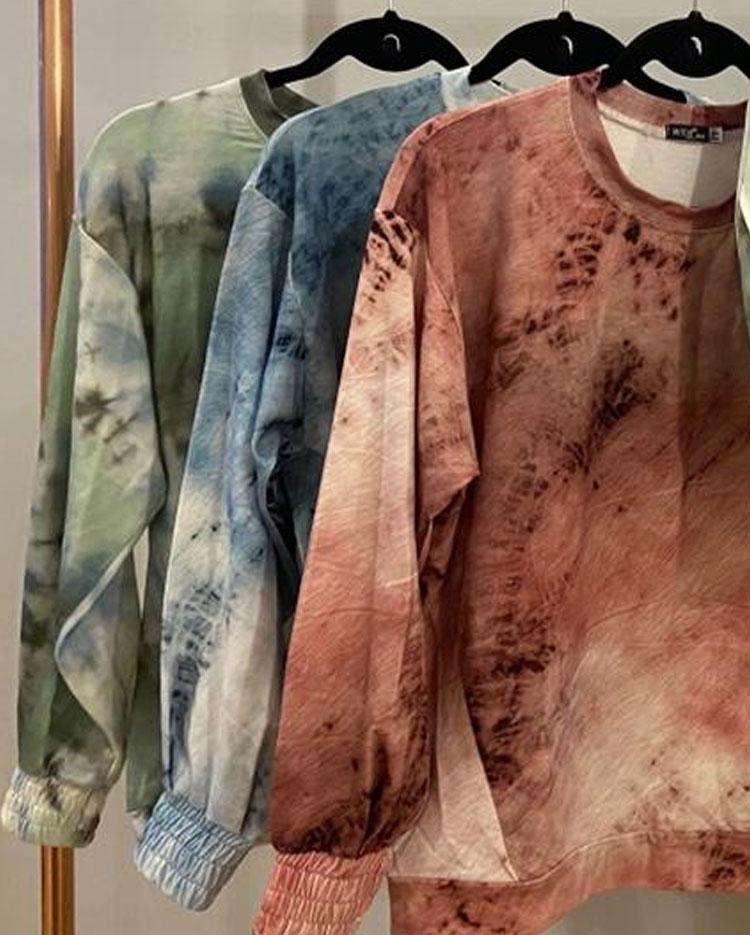 blusa tie dye presente de natal em família moda em casa it mãe