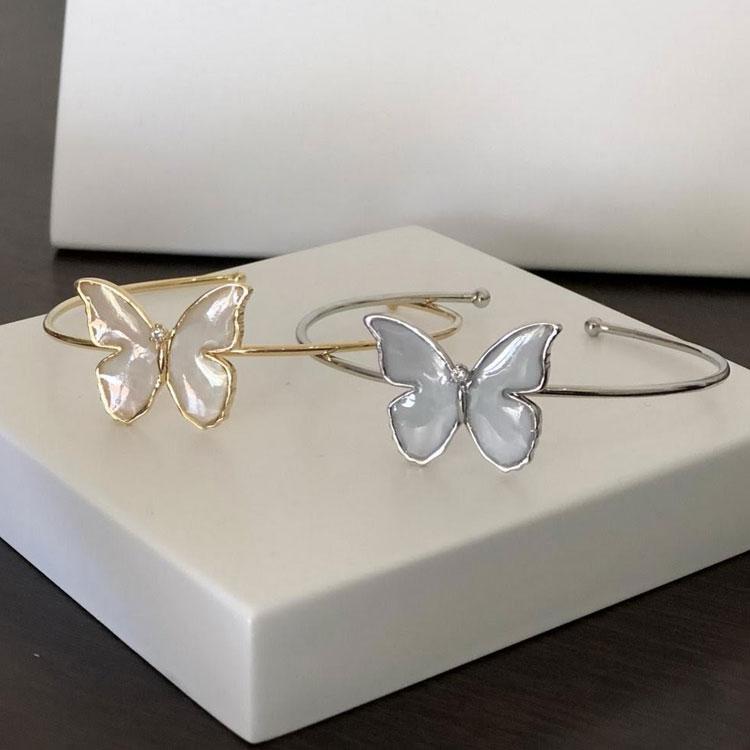 bracelete borboleta joia de leite it mãe