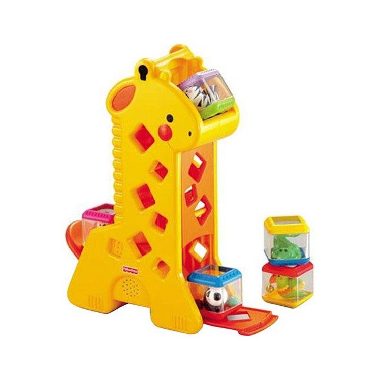 Girafa blocos presentes de natal para crianças quintal do bebê it mãe