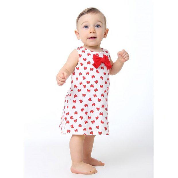 Presentes de Natal Vestido Baby Pima -  It Mãe