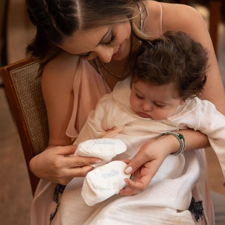 Looks de batizado Mandrião Unique Bless My Baby - It Mãe