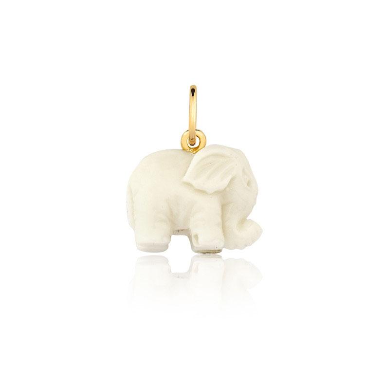 pingente de elefante presente de natal para família mini la joie it mãe