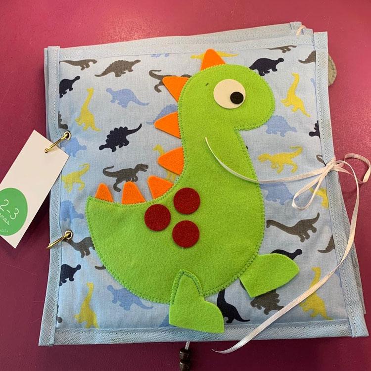 Quiet book presentes de natal para crianças góin góin it mãe
