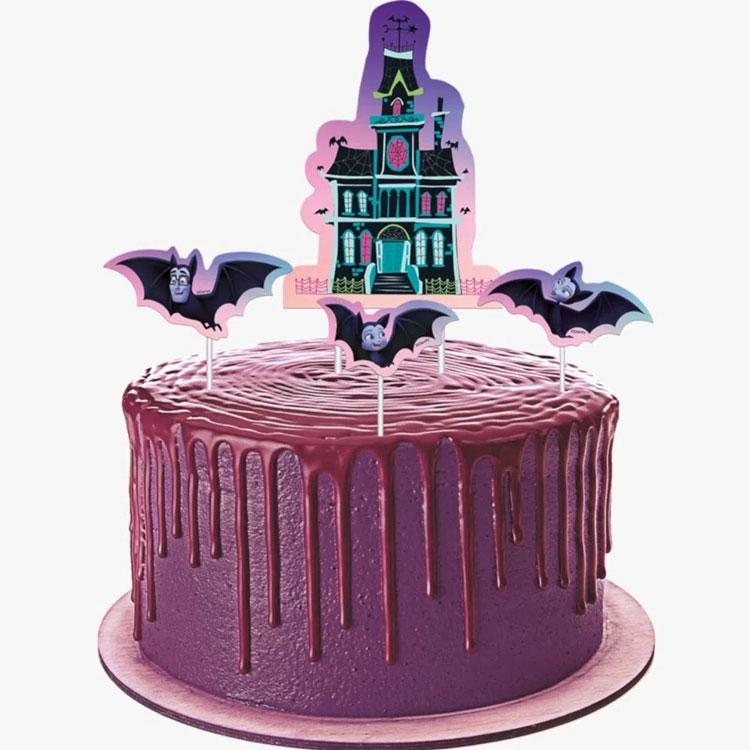 topper para bolo vampirina rica festa it mãe
