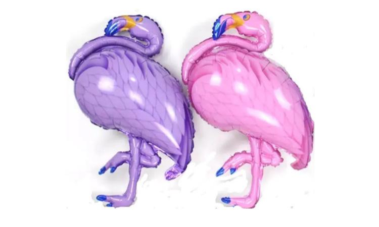 Balão Flamingo Metalizado - Rica Festa It Mãe