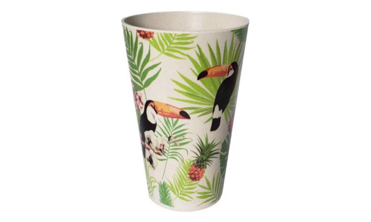 Copo de Fibra de Bambu Tropical -  It Mãe