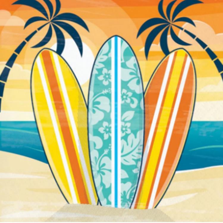 Surfing Prancha Guardanapo  -  It Mãe