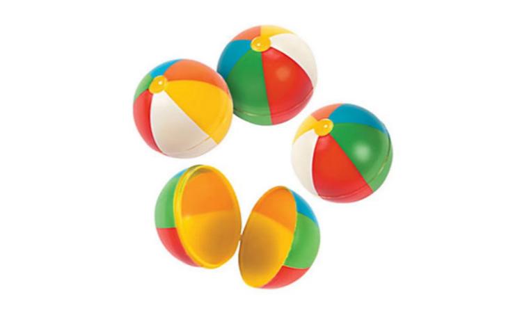 Pote Bola de Praia Plástico - It Mãe