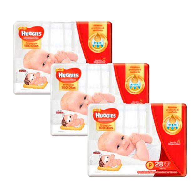 Fralda Huggies  Itens essenciais chá de bebê - It Mãe