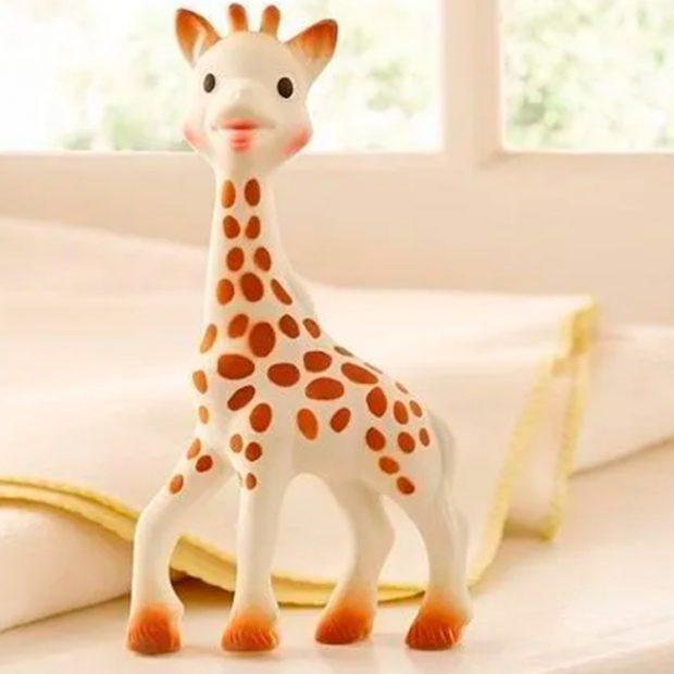 Sophie La Girafe Itens essenciais chá de bebê - It Mãe
