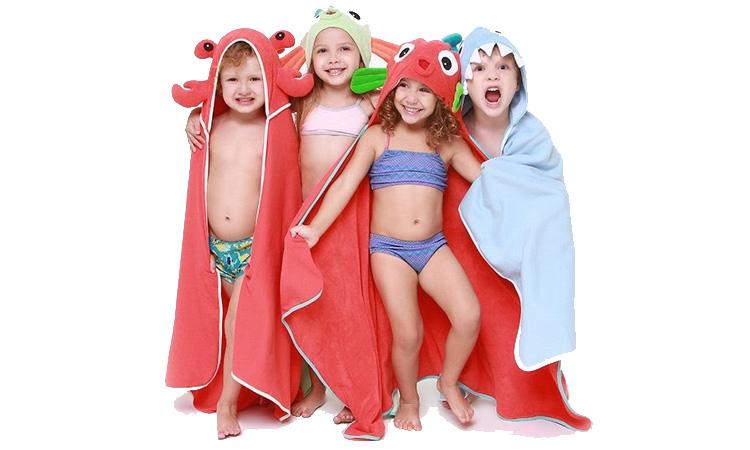 Toalhas divertidas da Eumini para um banho sem choro - It Mães