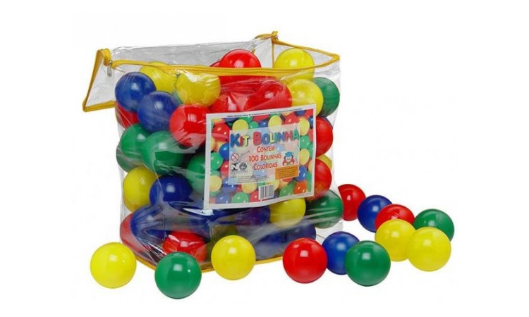 Brinquedos para praia e piscina: Kit Bolinho Góin Góin - It Mãe
