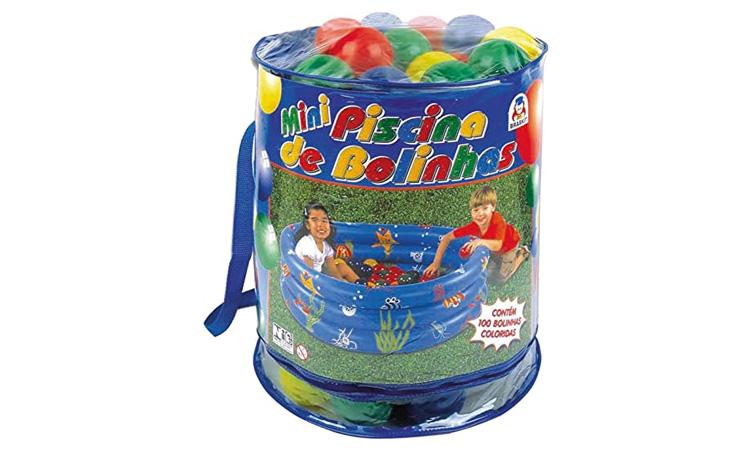Brinquedos para praia e piscina: Mini piscina de bolinhas da Góin Góin - It Mãe