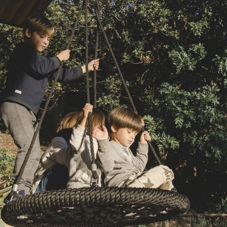 Balanço redondão Ninho Eba! Playgrounds -  It Mãe
