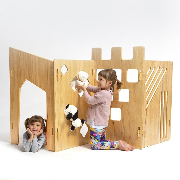 Biombo do Forte Espaço Lúdico par crianças Lilu Design - It Mãe