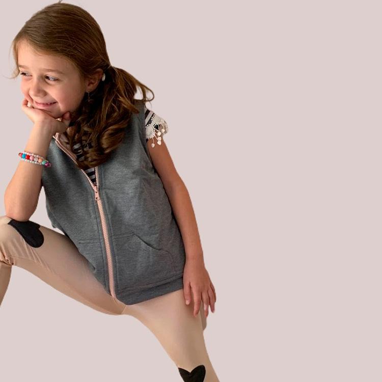 Legging Coração Looks divertidos para crianças Souris Kids - It Mãe