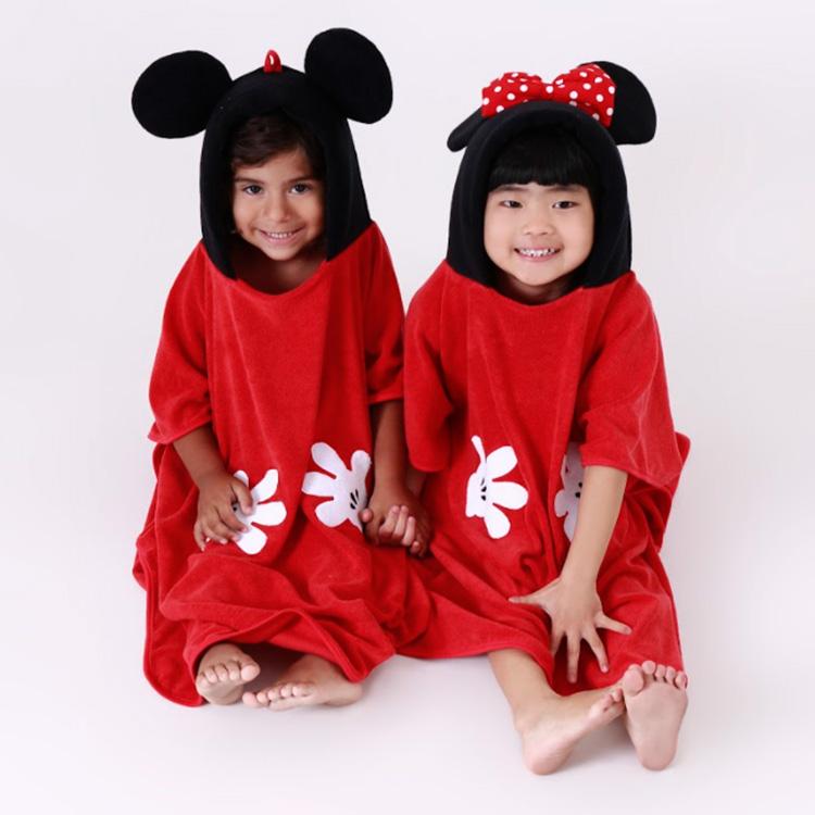 Toalha infantil Mickey e Minnie Eumini - It Mãe