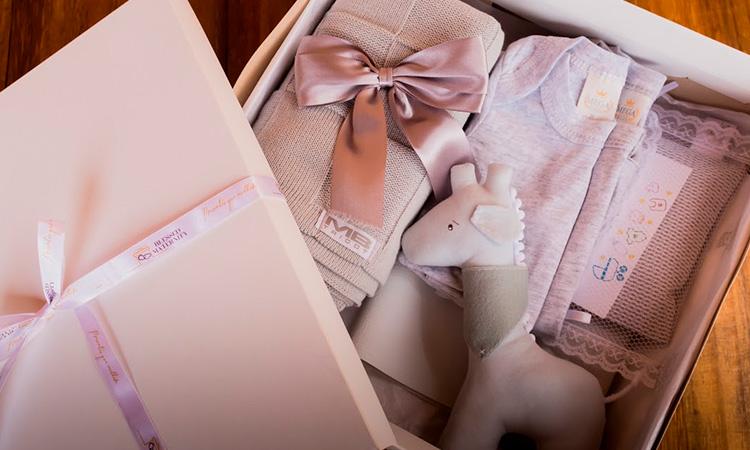 Kit Maternidade Cinza Blessed Maternity Presentes a distância Natal 2020 - It Mãe