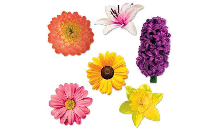 Decoração para festa luau: painel de flores - Rica Festa
