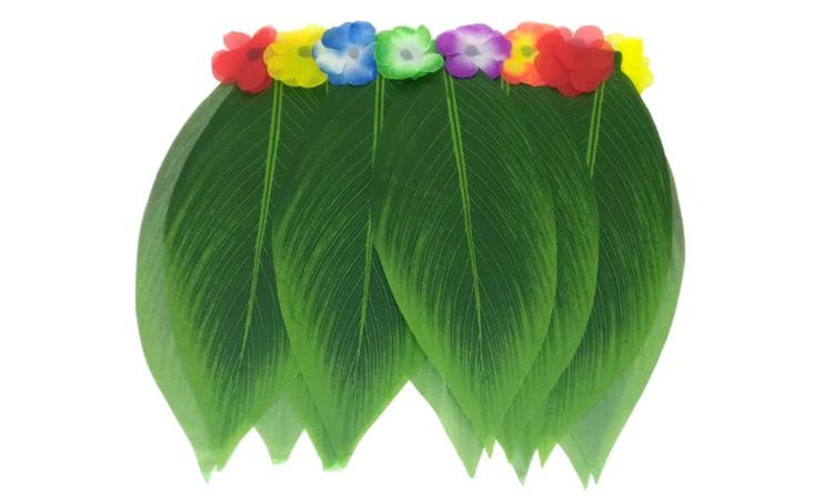 Decoração para festa luau: saia havaiana - Rica Festa