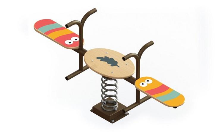 Gangorra Lagartinhas para parquinho no quintal Eba! Play - It Mãe