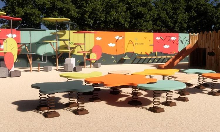 Jardim Molenga para parquinho no quintal Eba! Play - It Mãe