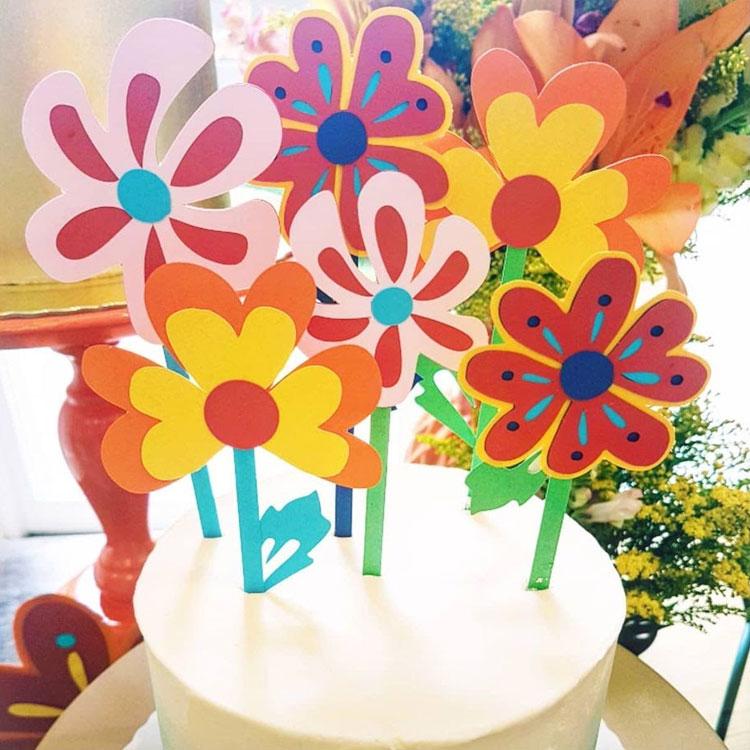 bolo de flores presentes para o dia das mulheres bella idea it mãe