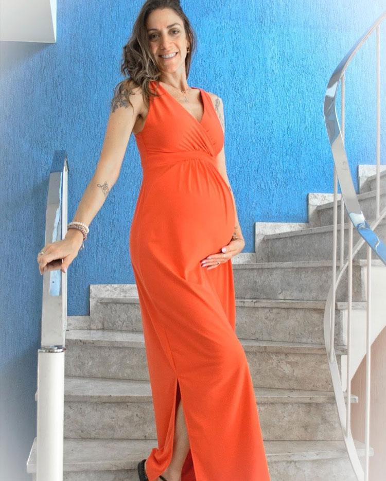 vestido gestante presentes para o dia das mulheres melancia it mãe
