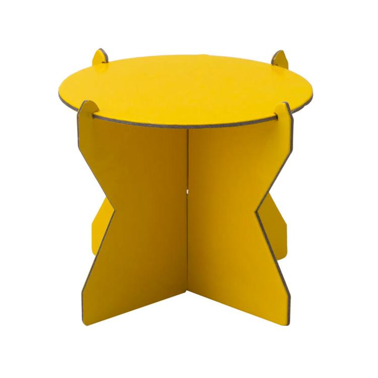 boleira amarela papelão rica festa