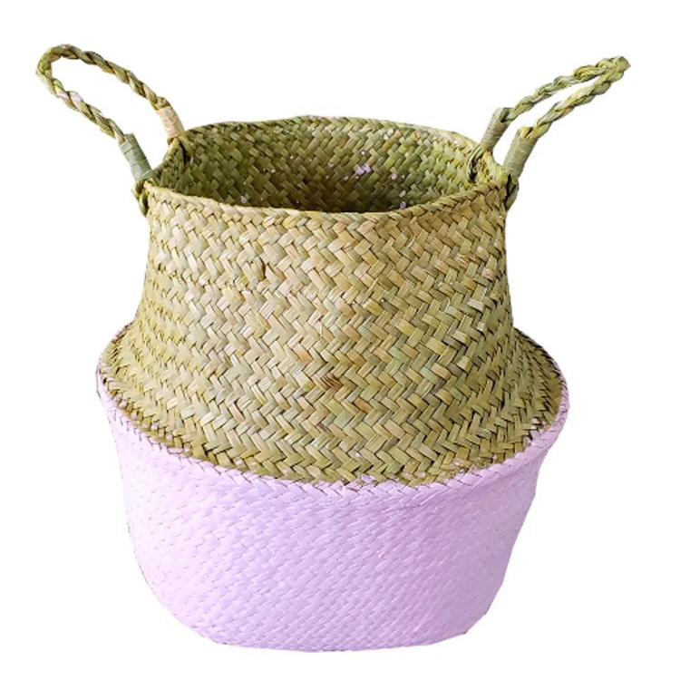 cesta decorativa vime festa eco-friendly - it mãe