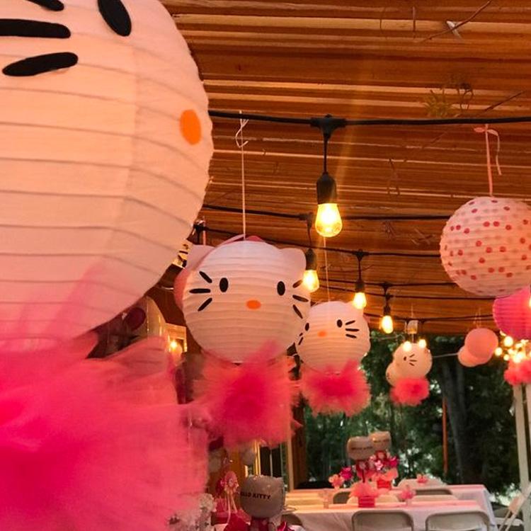 Lanternas de papel Festa Hello Kitty - It Mãe