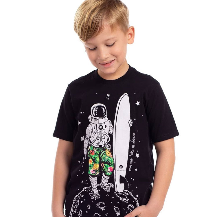 camiseta astronauta boys being boys it mãe