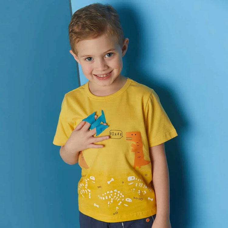 camiseta m/c roupas do momento alphabeto it mãe