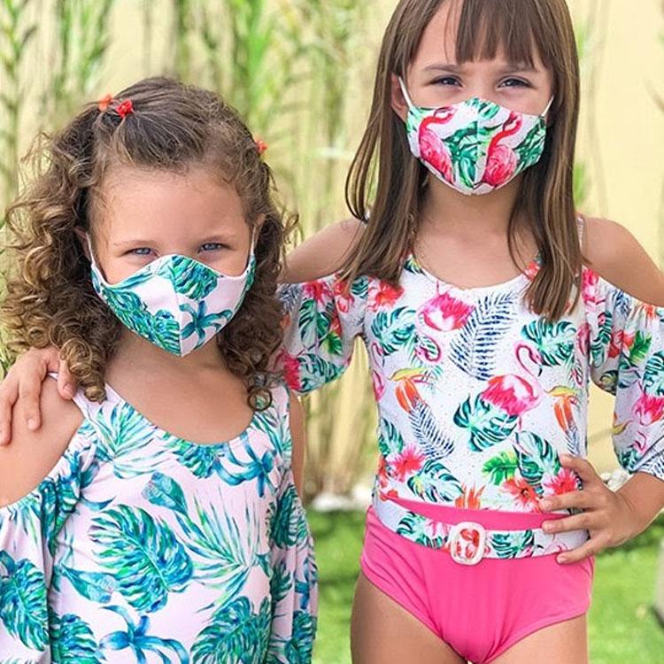 conjunto biquíni e máscara planet beach brasil it mãe