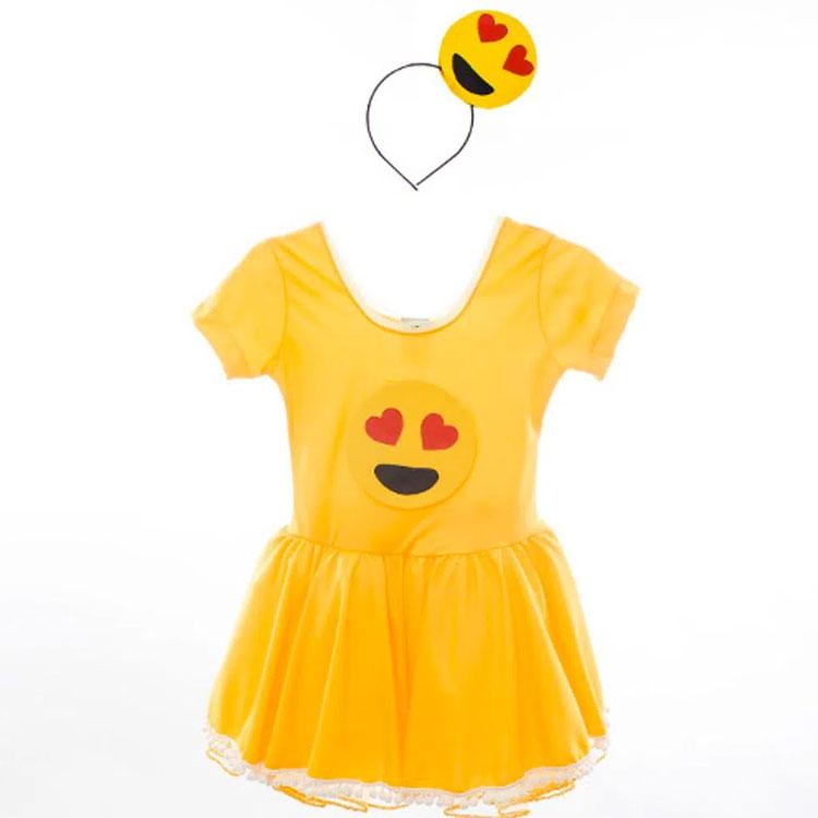 fantasia completa festa emoji rica festa it mãe