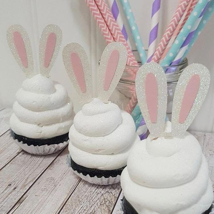 Cupcakes de coelho - It Mãe