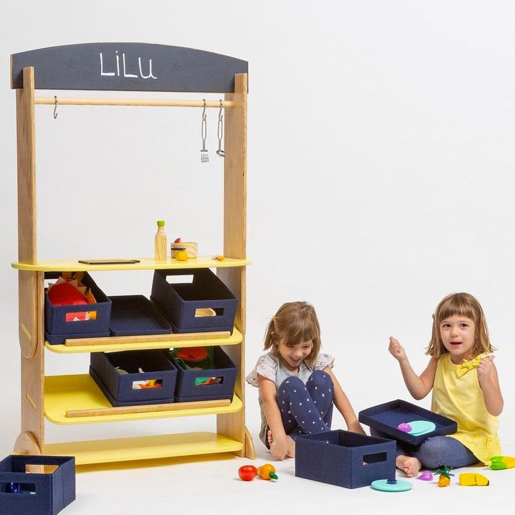 Estante Tema Livre Lilu Design - It Mãe
